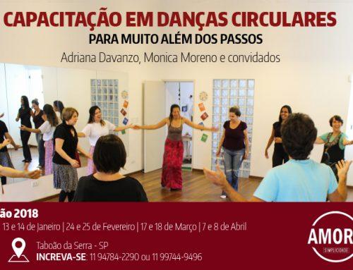Edição 2018 Capacitação em Danças Circulares